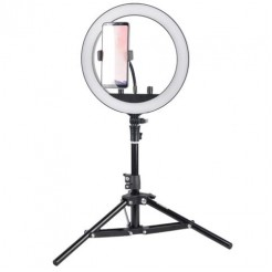 StudioKing Bi-Color LED Ringlamp Set SKRL10